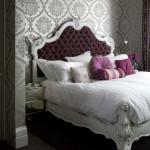 светло-серые вензеля для спальни